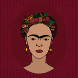 Frida Kahlo Stock Photography