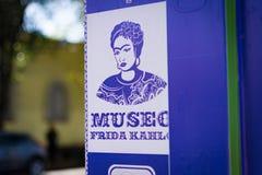Frida Kahlo Museum Royalty-vrije Stock Afbeeldingen