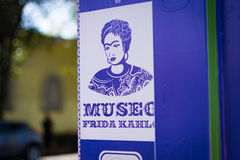 Frida Kahlo Museum Royalty Free Stock Images