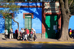 The Frida Kahlo Museum  at Coyoacan in Mexico City Stock Photo