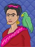 Frida Kahlo Portrait Royalty Free Stock Images