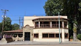 Frida ` s墨西哥餐馆中间地区孟菲斯 免版税库存图片