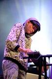 Frida Sundemo (cantante sueco) se realiza en el Musical de Barcelona Accio (el BAM) Foto de archivo