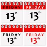 Friday 13 Stock Photography