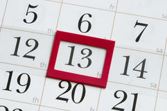 Friday the 13th Stock Images