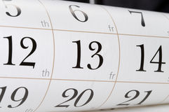 Friday the 13th Royalty Free Stock Images