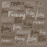 Friday background Stock Photo