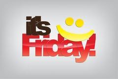 Friday Background. stock illustration