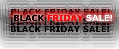 Friday black sale dollar $ sales stock photo