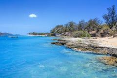 Friday Island Torres Straits stock image