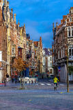 Friday market. Photograph of the Friday Market, Ghent, Belgium stock images