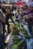 Friday market in Shaxi, Yunnan, China stock image