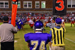 Friday Night Football Royalty Free Stock Photography