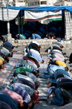 Friday Prayer in Silwan Stock Photography