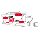 Friday sale. Royalty Free Stock Images