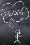 Friday Royalty Free Stock Photo