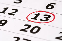 Friday the 13th Royalty Free Stock Photo