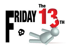 Friday the 13th  concept Stock Photos