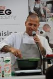 Luca Andre `Chef. From Friday 8th to Monday, 11th September 2017 Bologna was held in Bologna, `Sana`, the Italian fair of reference for the world of organic and Stock Image
