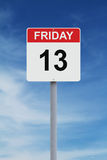 Friday the Thirteenth Stock Photography