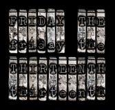 Friday the Thirteenth Stock Photo