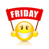 Friday vector sign Royalty Free Stock Photography