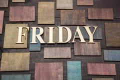 Friday Royalty Free Stock Photos