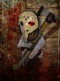 Fridays Child. Dark gothic horror abstract image of Friday's Child Vector Illustration