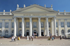 Fridericianum em Kassel Imagens de Stock Royalty Free