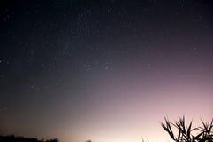 Fridfull himmel Arkivbilder