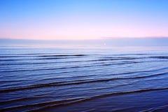 fridfullt hav Arkivbilder