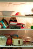 Fridge Content Stock Photography