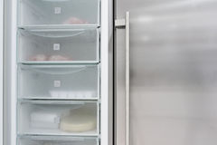 Fridge door Stock Images