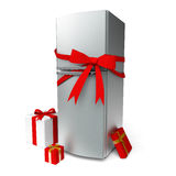 Fridge gift Stock Photography