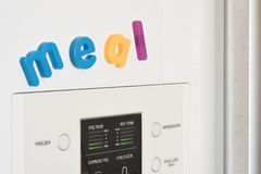Fridge Magnets - Meal Royalty Free Stock Image