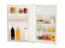 fridge otwarty Zdjęcia Royalty Free