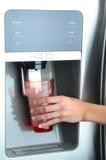 Fridge Water and Ice Dispenser royalty free stock photo