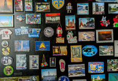 Fridgemagnets travel souvenir Royalty Free Stock Images