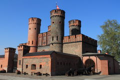 Fridrikhsburgsky gate in Kaliningrad royalty free stock photography
