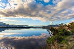 Fridsam australisk skymningplats Royaltyfria Foton