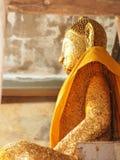 Fridsam buddist Arkivfoton
