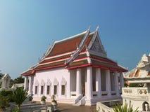 Fridsam buddistisk tempel Arkivfoto