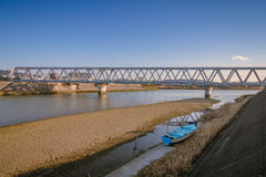 fridsam flod Royaltyfri Fotografi