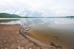 fridsam lake Royaltyfria Foton