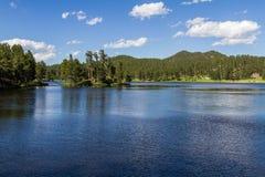 fridsam lake Fotografering för Bildbyråer