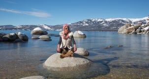 fridsam meditation arkivfilmer
