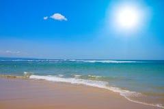 fridsam plats för strand Arkivfoto
