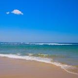 fridsam plats för strand Arkivfoton