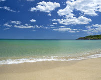 Fridsam strand fotografering för bildbyråer