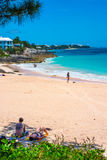 Fridsam strand Bermuda Royaltyfri Foto